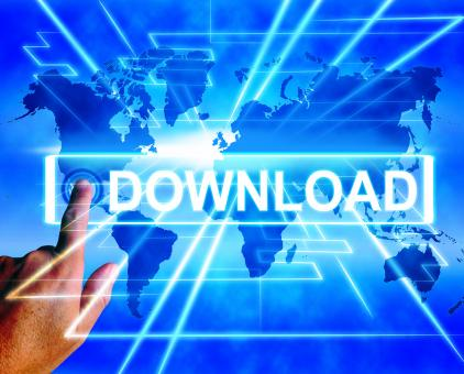 Free Stock Photo of Download Map Displays Downloads Downloading and Information Transfer