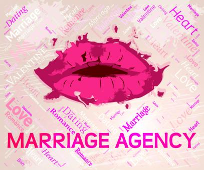 Free Stock Photo of Marriage Agency Represents Couple Marital And Matrimonial