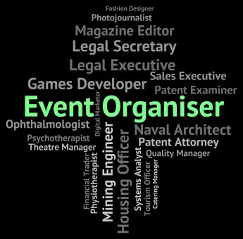Free Stock Photo of Event Organiser Shows Functions Work And Hiring