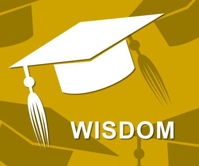 Free Stock Photo of Wisdom Mortarboard Shows Degree Intellect And Diploma