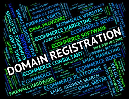 Free Stock Photo of Domain Registration Indicates Sign Up And Application