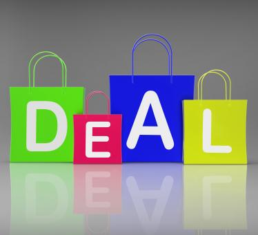 Free Stock Photo of Deal Bags Show Retail Shopping and Buying