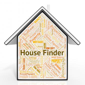 Free Stock Photo of House Finder Represents Search For And Discover