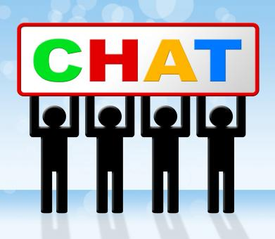 Free Stock Photo of Chatting Chat Means Messenger Communicating And Call