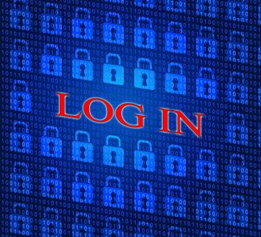 Free Stock Photo of Log In Indicates World Wide Web And Encryption