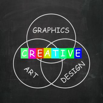 Free Stock Photo of Creative Choices Refer to Graphics Art Design and Creativity