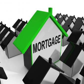Free Stock Photo of Mortgage House Means Debt And Repayments On Property