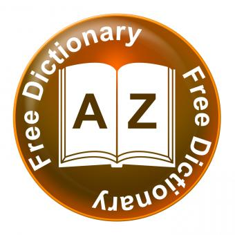 Free Stock Photo of Free Dictionary Means No Charge And Dictionaries