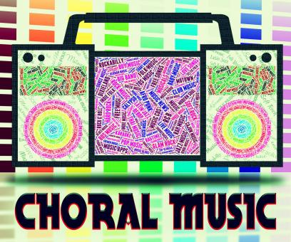 Free Stock Photo of Choral Music Means Sound Track And Choirs