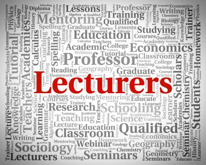 Free Stock Photo of Lecturers Word Represents Recitation Recitations And Oration