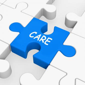 Free Stock Photo of Care Puzzle Means Concerned Careful Or Caring