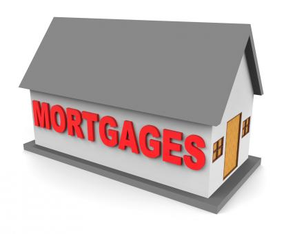 Free Stock Photo of House Mortgages Represents Housing Loan And Buying 3d Rendering