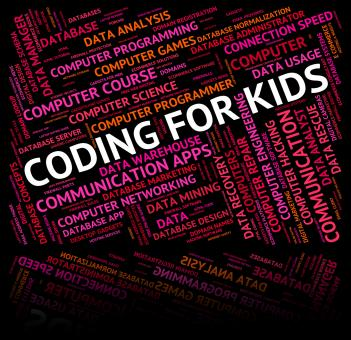 Free Stock Photo of Coding For Kids Indicates Software Youths And Youngster