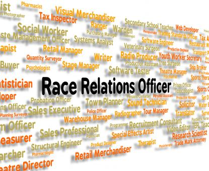 Free Stock Photo of Race Relations Officer Represents Ethnicity Hire And Hiring