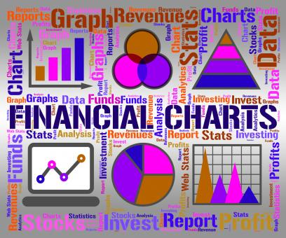 Free Stock Photo of Financial Charts Shows Business Graph And Banking