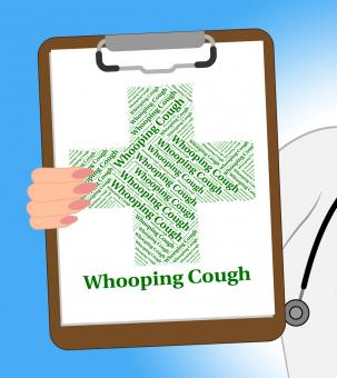 Free Stock Photo of Whooping Cough Shows Poor Health And Pertussis