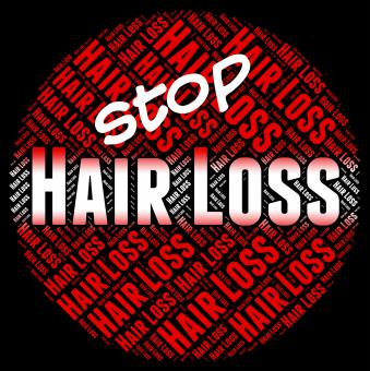 Free Stock Photo of Stop Hair Loss Means Stopped Danger And No