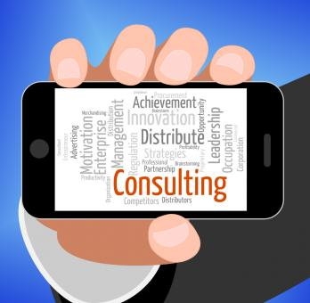 Free Stock Photo of Consulting Word Means Take Counsel And Consultation
