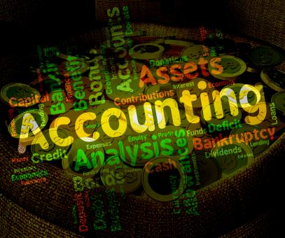 Free Stock Photo of Accounting Words Represents Balancing The Books And Accountant