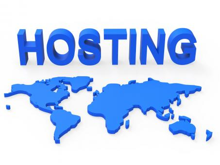 Free Stock Photo of Hosting World Shows Earth Webhosting And Worldwide