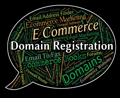 Free Stock Photo of Domain Registration Shows Sign Up And Admission
