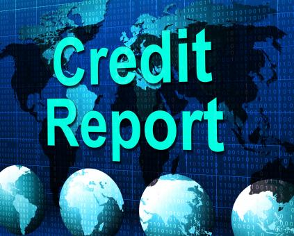 Free Stock Photo of Credit Report Represents Debit Card And Analysis