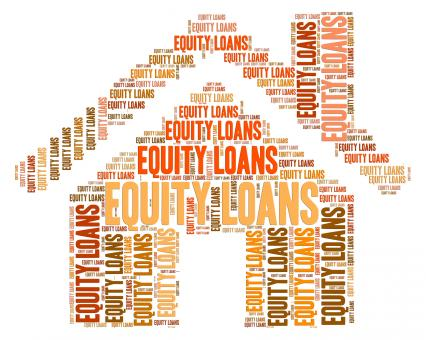 Free Stock Photo of Equity Loans Shows Credit Loaning And Lend