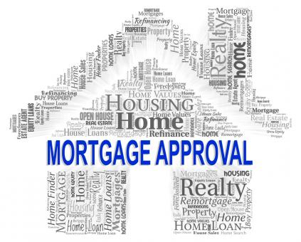 Free Stock Photo of Mortgage Approval Indicates Home Loan And Approve