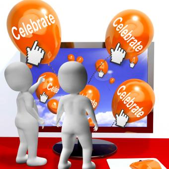 Free Stock Photo of Celebrate Balloons Mean Parties and Celebrations Internet