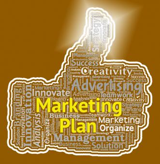 Free Stock Photo of Marketing Plan Shows Emarketing Programme And Promotion