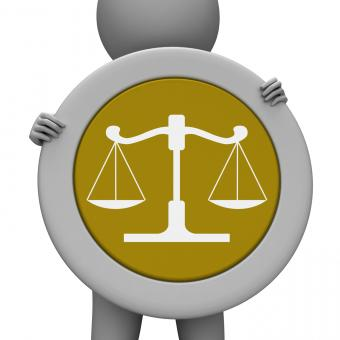 Free Stock Photo of Balance Scales Means Jury Court And Balanced
