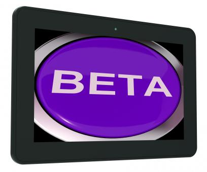 Free Stock Photo of Beta Switch Shows Development Or Demo Version