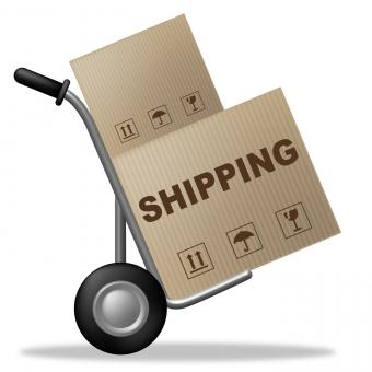 Free Stock Photo of Shipping Package Indicates Delivering Parcel And Packaging