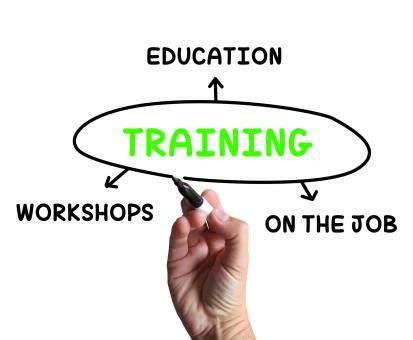 Free Stock Photo of Training Diagram Shows Workshops Groundwork And Educating