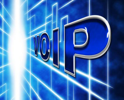 Free Stock Photo of Voip Telephony Indicates Voice Over Broadband And Protocol