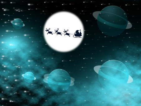 Free Stock Photo of Xmas  Shows Full Moon And Christmastime