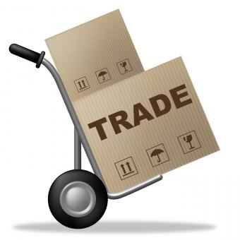 Free Stock Photo of Trade Package Indicates Shipping Box And Biz