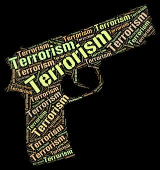 Free Stock Photo of Terrorism Word Represents Freedom Fighter And Anarchy