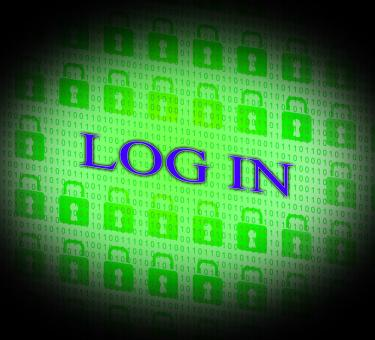 Free Stock Photo of Log In Shows World Wide Web And Encryption