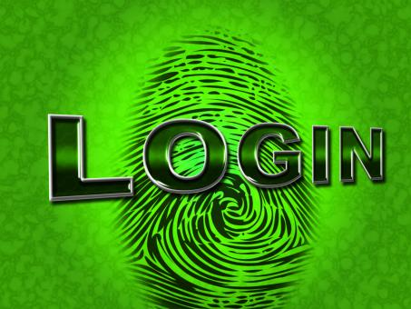 Free Stock Photo of Login Security Shows Logon Restricted And Username