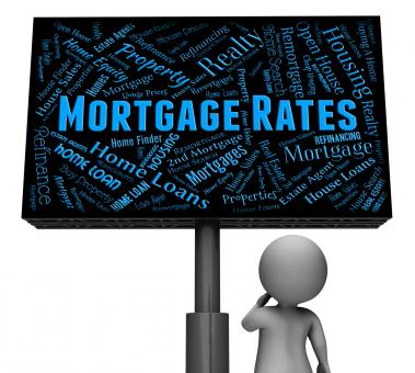 Free Stock Photo of Mortgage Rates Represents Home Loan And Board