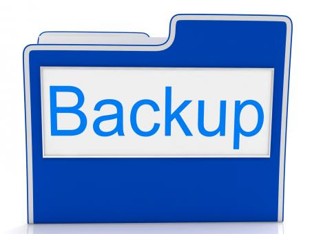 Free Stock Photo of File Backup Represents Data Archiving And Archives
