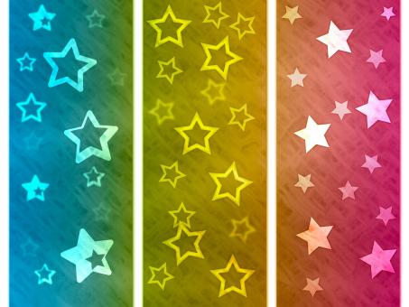Free Stock Photo of Color Background Shows Star Colourful And Spectrum