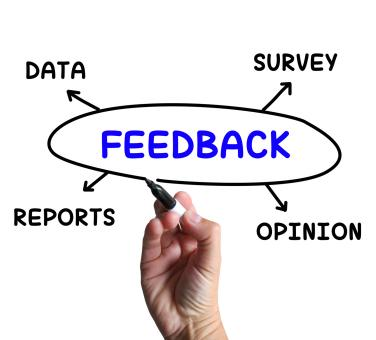 Free Stock Photo of Feedback Diagram Means Survey Reports And Opinion