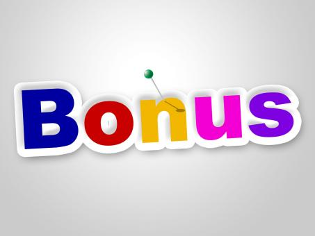 Free Stock Photo of Bonus Sign Shows For Free And Added