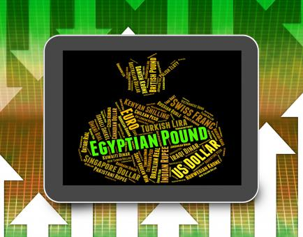 Free Stock Photo of Egyptian Pound Shows Worldwide Trading And Coin