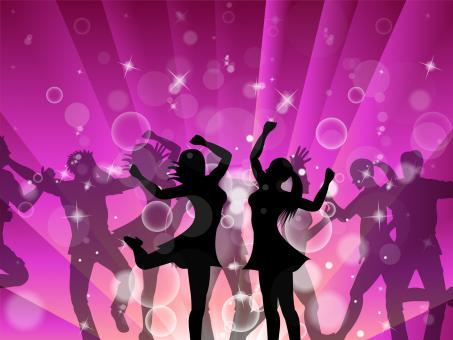 Free Stock Photo of Disco Women Indicates Dance Discotheque And Female