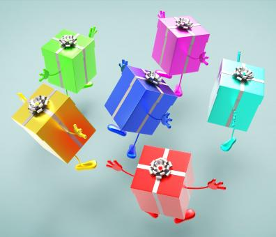 Free Stock Photo of Celebration Giftboxes Represents Celebrations Giving And Joy