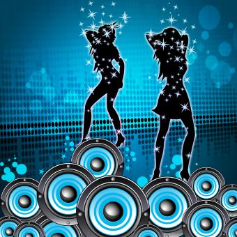 Free Stock Photo of Disco Music Shows Sound Party And Melody
