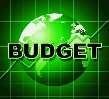 Free Stock Photo of Budget Graph Means Costing Expenditure And Statistic